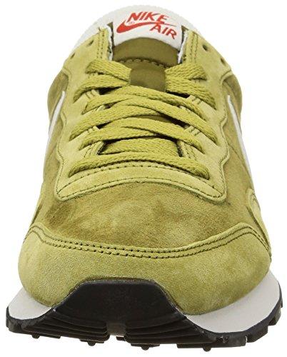 Nike AIR PEGASUS LTR - Zapatillas para hombre Verde / Plateado (Camper Green / Nght Slvr-Mlt Grn)