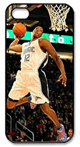 icasepersonalized Personalized Protective Case For Iphone 4/4S Cover - NBA Sports Orlando Magic #12 Dwight Howard Dunk