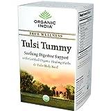Organic India Tulsi Wellness Tummy Tea, 18 Count