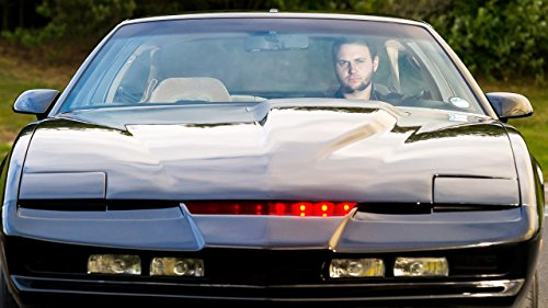 Real Life Knight Rider  Fan Spends  18 000 Recreating Iconic Car