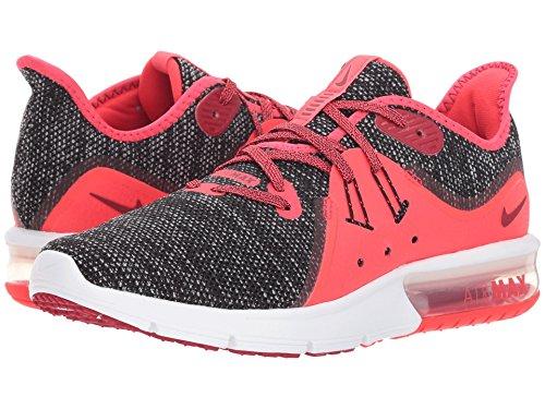 より平らなベリプレミアム[NIKE(ナイキ)] レディースランニングシューズ?スニーカー?靴 Air Max Sequent 3 Black/Red Crush/White/Red Orbit 9.5 (26.5cm) B - Medium