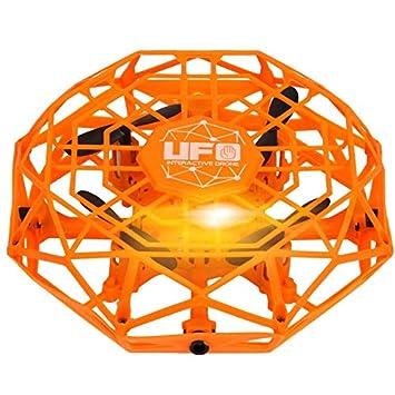 Justdodo TL123 UFO Mini Drone Helicopter RC Quadcopter Sensing and ...