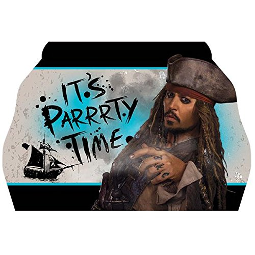 8 Count Pirates of the Caribbean Invitations