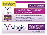 Vagisil Medicated Anti-Itch Creme, Maximum Strength, 1-Ounce (Pack of 3)
