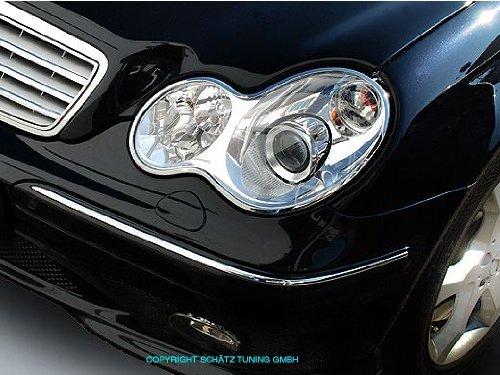 2006 Chrome Headlights Trim - 1