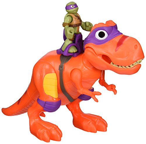 - Teenage Mutant Ninja Turtles Pre-Cool Half Shell Heroes T-Rex with Donatello Vehicle and Figure