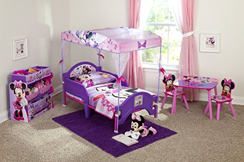 Delta Children's Products Minnie Mouse Canopy Toddler Bed 1