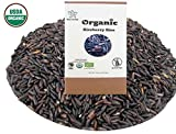 USDA Certified Organic Riceberry Rice from Thailand Black Rice Berry Healthy Natural Purple Long Grain 3 LB (48 oz)