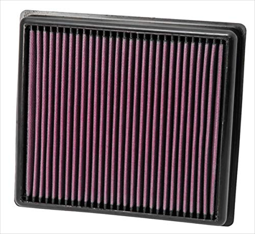 K&N engine air filter, washable and reusable:  2011-2019 BMW (114d, 116d, 116i, 118d, 118i, 120d, 125d, 218d, 218i and more select models) ()