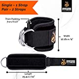 DMoose Fitness Ankle Strap for Cable Machines for