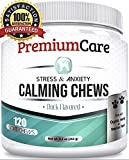 PremiumCare Calming Treats for Dogs | Hemp Oil Infused Soft Chews for...