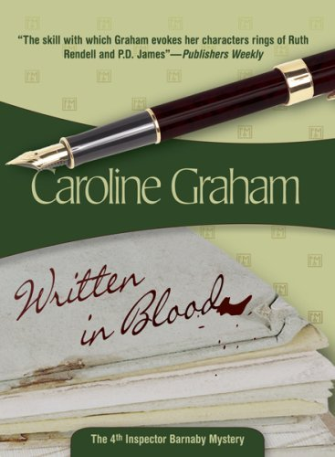 By Caroline Graham - Written in Blood (10/16/07) ebook