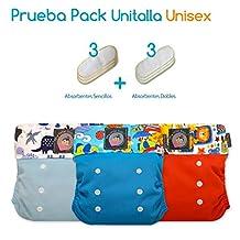 Pañales Ecológicos My Little Baby Prueba Pack Unitalla UNISEX