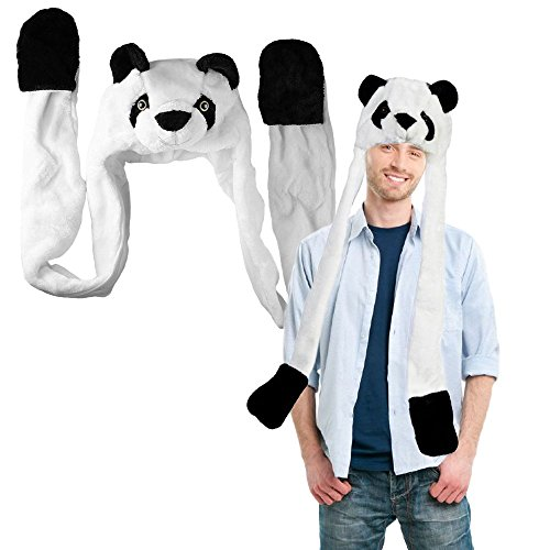 Toy Cubby Plushy Headgear Panda product image