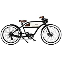 "T4B Greaser-Retro Style Electric Bike-26"" Wheels"