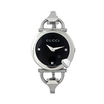 f030d812a0a Gucci Ladies Chiodo Watch YA122507 Wrist Watch (Wristwatch)  Amazon.co.uk   Watches