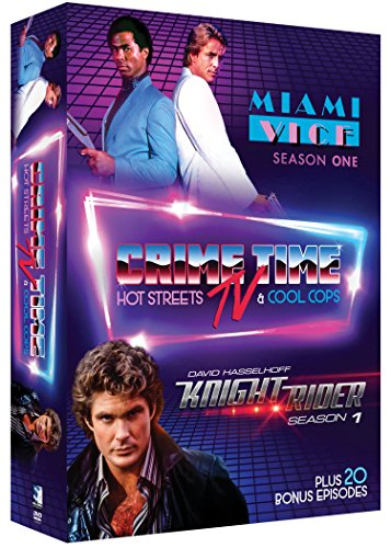 Crime Time Tv Miami Vice And Knight Rider Tv Bundle