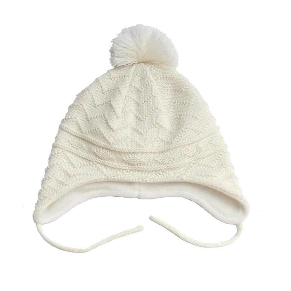 KFEK Orejeras para niños algodón más Terciopelo Gorro de Punto ...