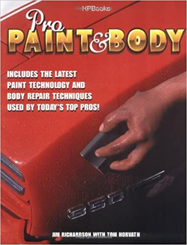 Amazoncom Pro Paint Body Jim Richardson Books - Pro paint
