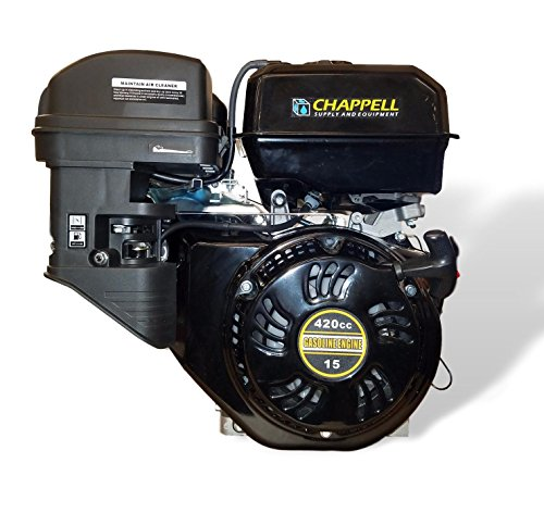 420cc OHV 4 Stroke Gasoline Engine with Low Engine Oil Shutdown by Raptor Blast