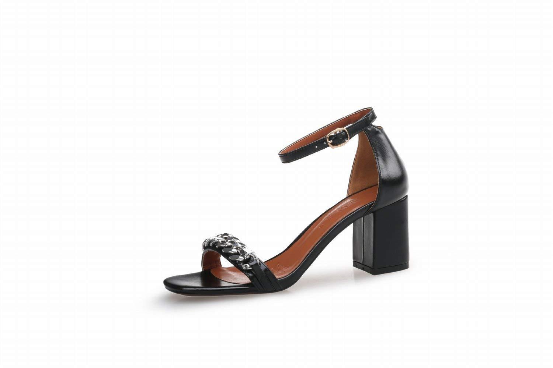 Schuhe Damen mit Schuhe High Heels mit Schuhe an High Heels (Farbe   Schwarz, Größe   39)