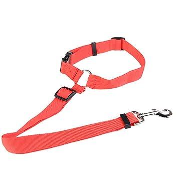 DXWSLJHB Cinturón de Seguridad para Perros, arnés para Mascotas ...