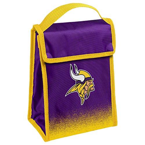 Office Minnesota Vikings - Minnesota Vikings Gradient Lunch Bag