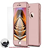 Kyпить iPhone 7 Case,Lavince Full Body Protection Hard Slim Premium Cover[Dual Layer][Slim Fit] with Tempered Glass Screen Protector for iPhone 7 4.7inch(Rose Gold) на Amazon.com