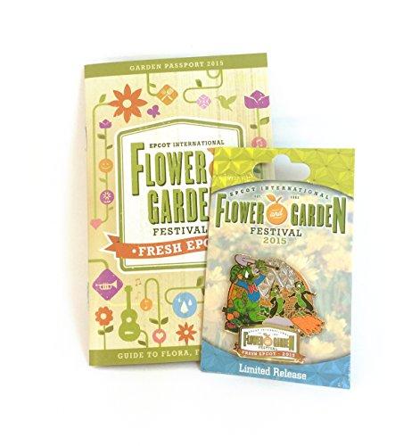 2015 Epcot International Flower & Garden Festival Limited Release Pin & Passport