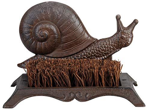 Esschert Design Boot Brush Snail