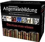 CD WISSEN - Allgemeinbildung - Das muss man wissen. Hörbuch-Box mit allen Einzelausgaben. 11 CDs von Martin Zimmermann (2008) Audio CD