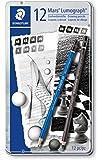 ステッドラー 鉛筆 ルモグラフ 12硬度 12本 100 G12 S1