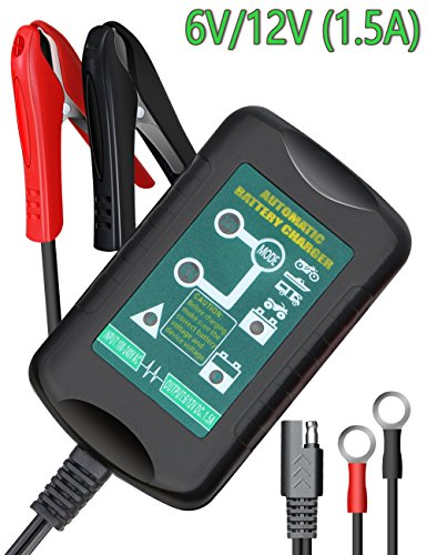 12V Motorcycle Battery Charger - 9