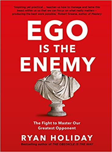 Ego is the Enemy- book cover