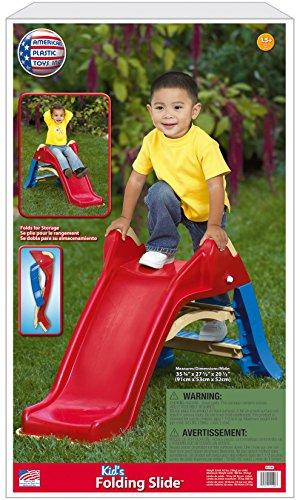 025217121003 - American Plastic Toy Folding Slide carousel main 2