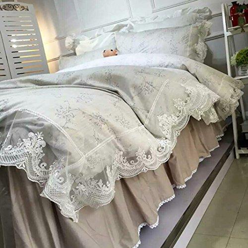 Bedding Princess Cotton Bed Skirt Size 150*200cm - 1