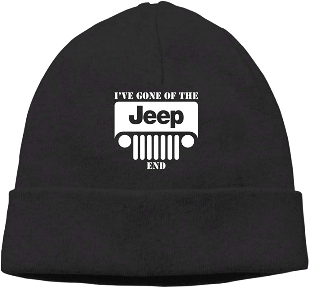 I Ve Gone Off The Jeep End Beanie Knit Hats Ski Caps Men Black
