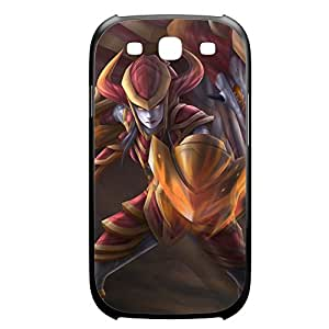 Shyvana-004 League of Legends LoL case cover Samsung Galaxy S6 Plastic Black