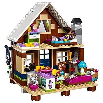 Lego Friends Snow Resort Chalet 41323 Building Kit (402 Piece) 1