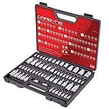 Carbyne 62 Pc Master Torx Bit Socket Set & Torx