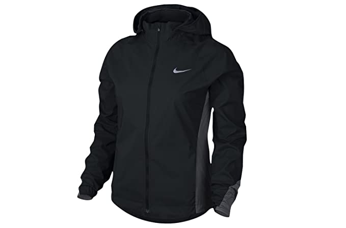 a125b7fc3f19f Amazon.com: Nike HyperShield Women's Running Jacket (2X, Black): Sports &  Outdoors