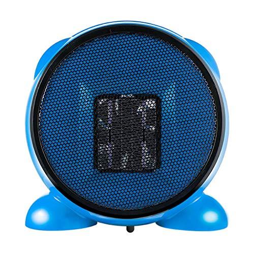 Calentador de Espacio portátil Mini para la Oficina en casa 500 vatios Negro Ninonly Moda Ventilador de Dibujos Animados...