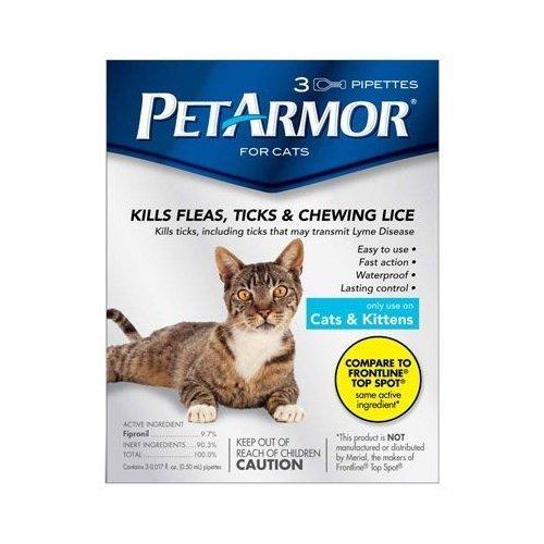 3PK Cat Flea Treatment