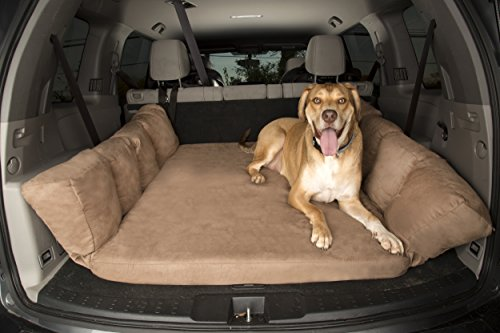 Cheap Backseat Barker: SUV Edition (Orthopedic Shock-Absorbing Big Barker Dog Bed for Back of Sport Utility Vehicles)