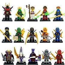 Sbolang Ninjago Minifigures Lot of 15