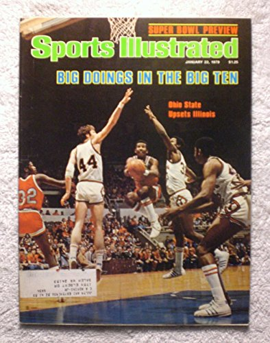 1979 College Basketball (Ohio State Upsets Illinois - Big Ten Basketball - Sports Illustrated - January 22, 1979 - College Basketball - SI-2)