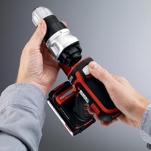 Black & Decker BDCDMT120 20-Volt MAX Lithium-Ion Matrix Cordless Drill