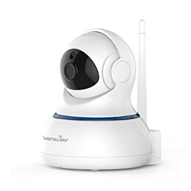 Wansview Wireless 1080P Security Camera, WiFi Home Surveillance IP Camera for Baby/Elder/ Pet/Nanny Monitor, Pan/Tilt, Two-Way Audio & Night Vision Q3-S