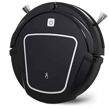 RZ Aspirador Robot Inteligente Aspirador De Limpieza Semanal De Autoalimentación De Alta Succión 3 En Uno Aspirador Robótico para Mascotas De Alergia (Negro ...