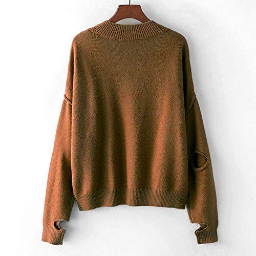 D'hiver Femmes À T Chemises Sweat Rayures Pull Pour Femmes Pullover shirts Décontractées Zhrui 6tvaXq